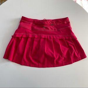 XXS Athleta Running Tennis Skort Pink